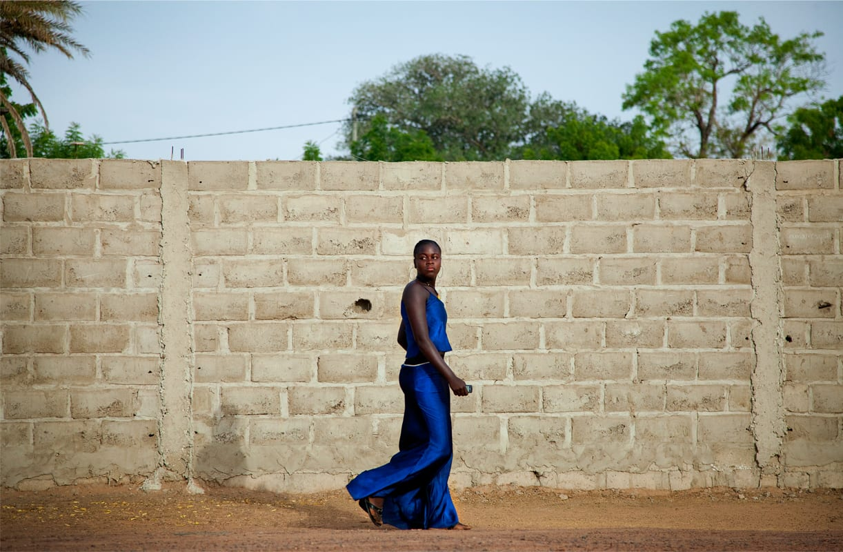 Blue Dress, Senegal